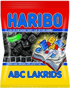 HARIBO ABC-LAKRIDS