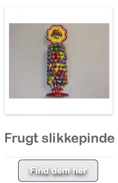 Frugt slikkepinde