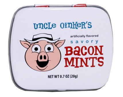 Bacon mintpastiller