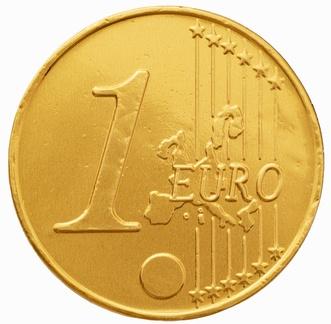 Chokolade-guldmønter