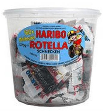 Haribo miniposer - Rotella