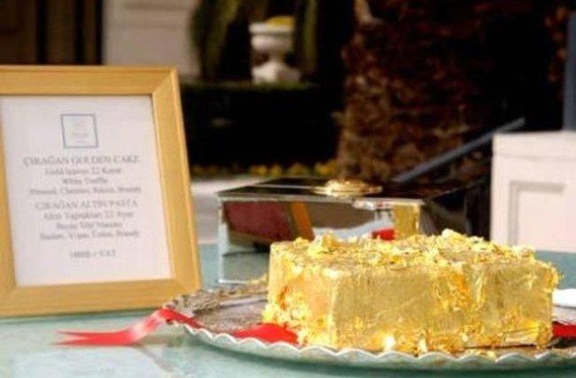 Sultanens Golden Cake – fra Istanbul