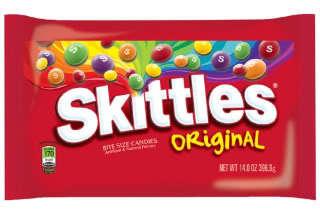Skittles i pose
