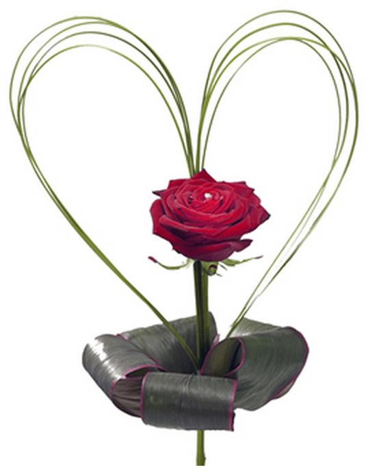 Blomster til Valentinsdag