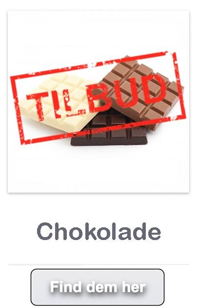Chokolade tilbud