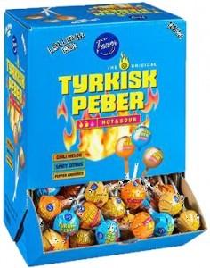 TYRKISK PEBER HOT:SOUR