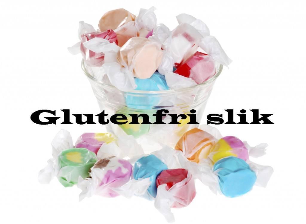 Glutenfri slik