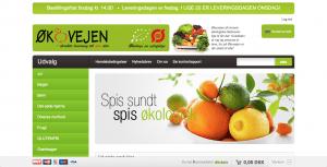 dagligvarer online ved Økovejen