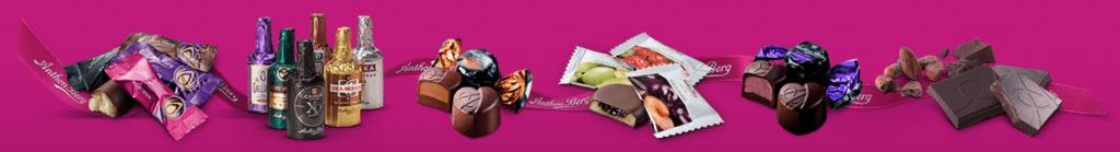 Anthon Berg chokolade - produkterne