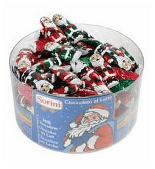 Små chokolade julenisser