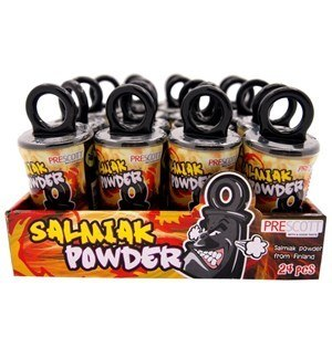 Salmiak Powder display